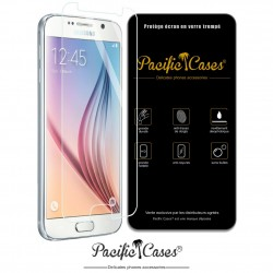 Film protection écran en verre trempé Samsung Galaxy S6 marque Pacific Cases®
