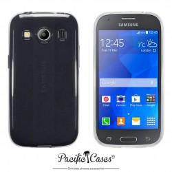Coque gel pour Samsung Galaxy Ace 4 transparente cristal