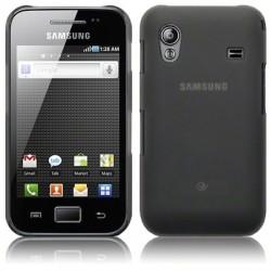 Coque noir translucide pour Samsung Galaxy Ace S5830