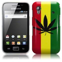 Coque drapeau Jamaïque pour Samsung Galaxy Ace S5830