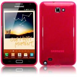 Coque souple rose brillant pour Samsung Galaxy Note