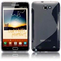Coque gel transparente pour Samsung Galaxy Note