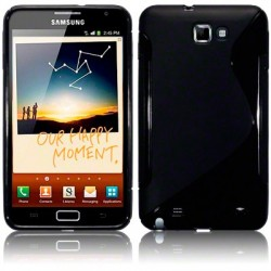 Coque gel noir pour Samsung Galaxy Note