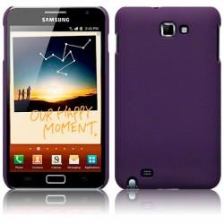 Coque rigide pourpre mat pour Samsung Galaxy Note