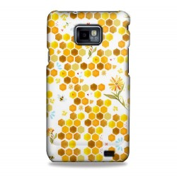 Coque motifs nid d'abeilles Samsung Galaxy S2