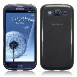 Coque noir fumé Samsung pour Galaxy S3