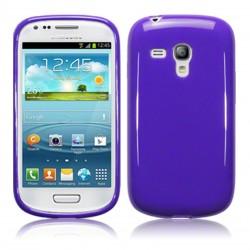 Coque violette Samsung s3 mini