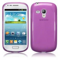 Coque violette translucide pour Samsung s3 mini