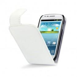 Etui blanc à clapet pour Samsung S3 mini