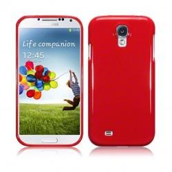 Coque rouge brillant pour Samsung S4