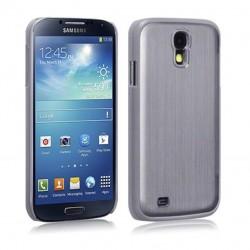 Coque en aluminium gris pour Samsung S4