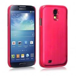 Coque en aluminium rouge pour Samsung S4