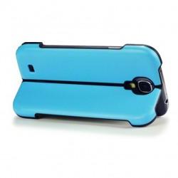 Coque bleue avec fonction stand pour Samsung S4