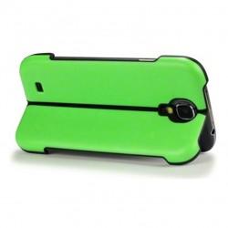 Coque verte avec fonction stand pour Samsung S4