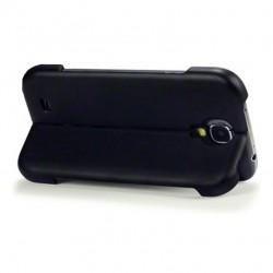 Coque noire avec fonction stand pour Samsung S4