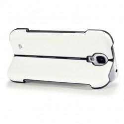 Coque blanche avec fonction stand pour Samsung S4