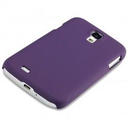Coque pourpre touché gomme Pacific Cases® pour Samsung S4