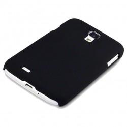 Coque noire touché gomme Pacific Cases® pour Samsung S4