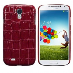 Coque croco rouge Pacific Cases® pour Samsung S4