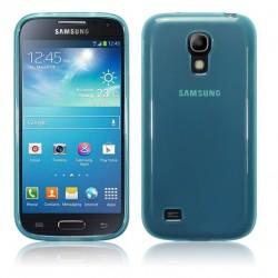 Coque bleu translucide pour Samsung s4 mini