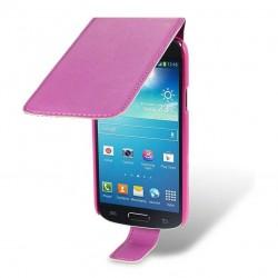 Etui rose à clapet pour Samsung Galaxy S4 mini