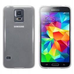 Coque transparente givre pour Samsung S5