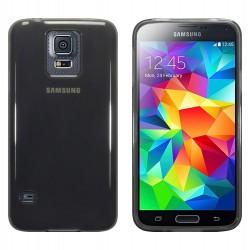 Coque noir fumé translucide pour Samsung S5