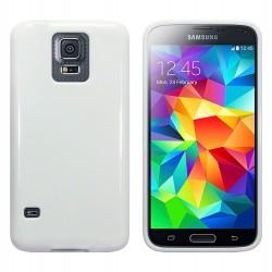 Coque blanc brillant pour Samsung S5
