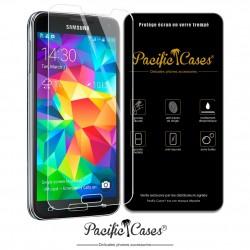 Film protection écran en verre trempé pour Samsung Galaxy S5 marque Pacific Cases®