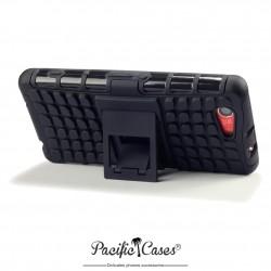 Coque renforcée anti choc pour Sony Xperia Z3 Compact marque Pacific Cases - Noir