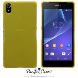 Coque jaune translucide pour Sony Xperia Z2 par Pacific Cases