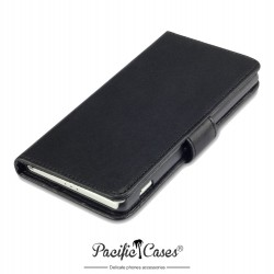 Etui noir folio pour Sony Xperia Z2 Pacific Cases