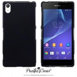 Coque noir brillant pour Sony Xperia Z2