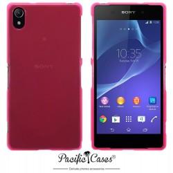 Coque rose translucide pour Sony Xperia Z2