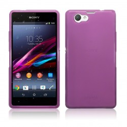 Coque violette translucide pour Sony Xperia Z1 Compact