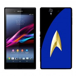Coque Star Trek bleue avec uniforme Sony Xperia Z