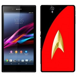 Coque Star Trek rouge avec uniforme Sony Xperia Z