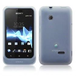 Coque silicone transparente Sony Xperia Tipo
