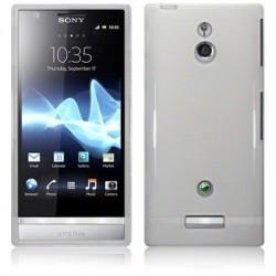 Coque translucide brillant pour Sony Xperia P