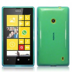 Coque bleu translucide pour Nokia Lumia 520