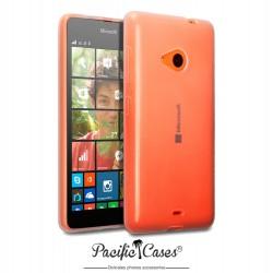 Coque gel pour Microsoft Lumia 535 transparente cristal