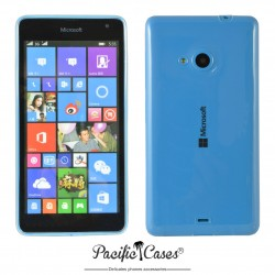 Coque pour Microsoft Lumia 535 Pacific Cases - Ultra transparente