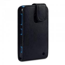 Etui noir à clapet pour Nokia Lumia 620