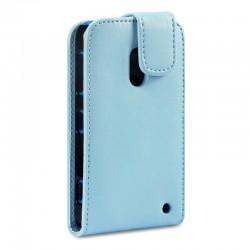 Etui bleu clair à clapet pour Nokia Lumia 620