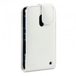 Etui blanc à clapet pour Nokia Lumia 620