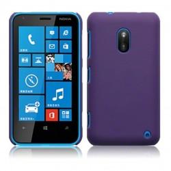 Coque pourpre mat rigide touché gomme pour Nokia Lumia 620