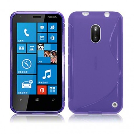 Coque violet translucide pour Nokia Lumia 620