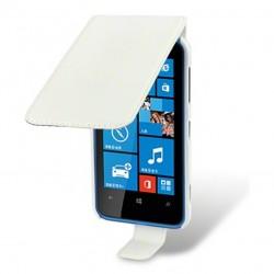 Etui blanc clapet pour Nokia Lumia 620