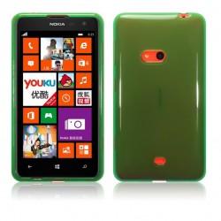 Coque vert translucide pour Nokia Lumia 625