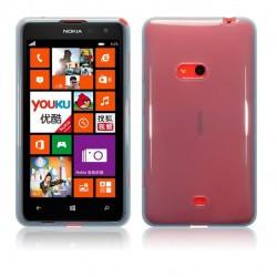 Coque bleu translucide pour Nokia Lumia 625